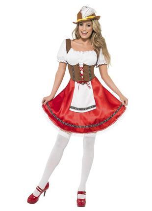 Карнавальный костюм ,платье красной шапочки,размер s