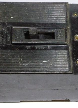 Автоматический выключатель А3163 30А советский ссср