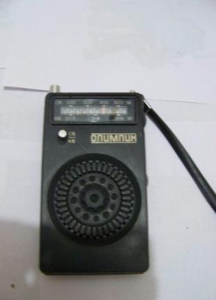Радио радиоприёмник Олимпик