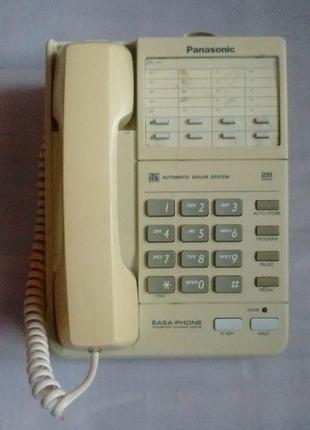 Телефон Panasonic с АОН панасоник кнопочный