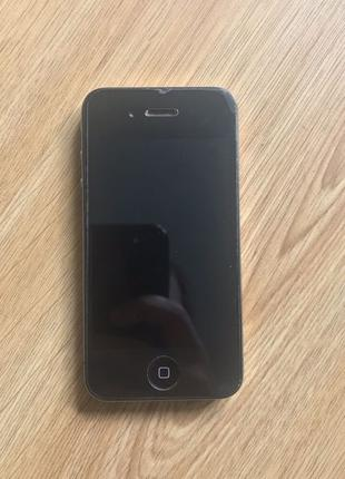Iphone 4 black neverlock (черный) 16 Гб Gb