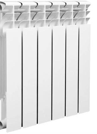 Биметаллический радиатор отопления. Отопительная батарея