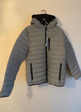 Куртка bershka рефлективная