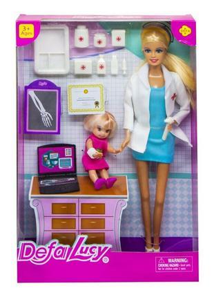 Кукла Defa доктор, кукла барби доктор