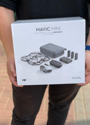 DJI Mavic Mini fly more combo. Новий запакований