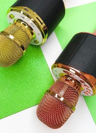 Караоке микрофон блютуз Bluetooth