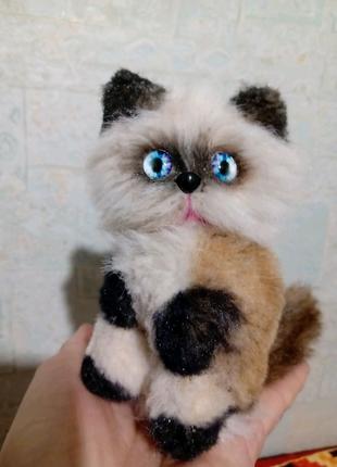 Сиамский котик ручная работа