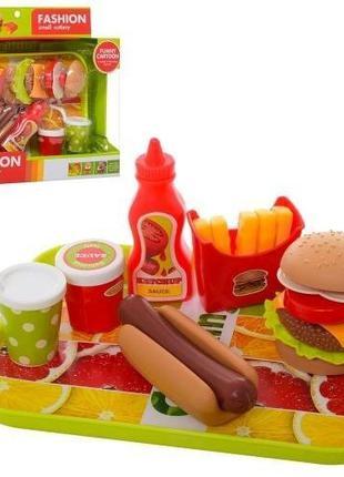Набор продуктов игрушечный, фастфуд