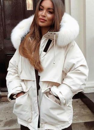 Зимняя парка, куртка плащевка columbia