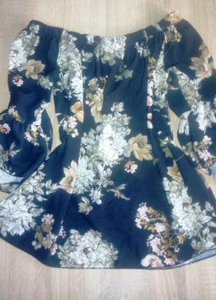 Кофточка блуза с открытыми плечами