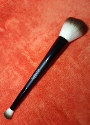 Двосторонній пензлик для макіяжу