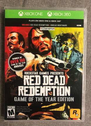 Red Dead Redemption Game Of The Year Edition Xbox 360 lt3.0 rus