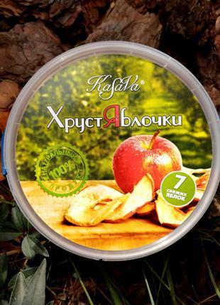 """Яблочные Чипсы """"ХрустЯблочки"""""""