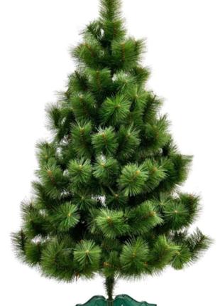 Сосна зеленая искусственная распушенная распушенка пушистая елка