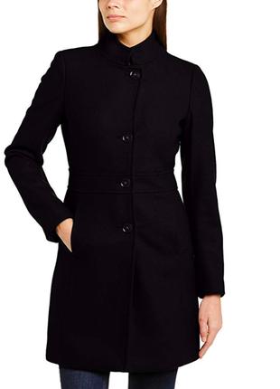 Шерстяное классическое пальто (демисезонное)