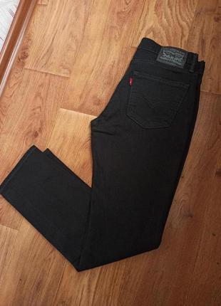 Мужские черные джинсы levi's 511 брюки levis 501 штаны