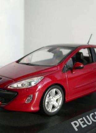 Peugeot 308 - Модель 1/43 Norev
