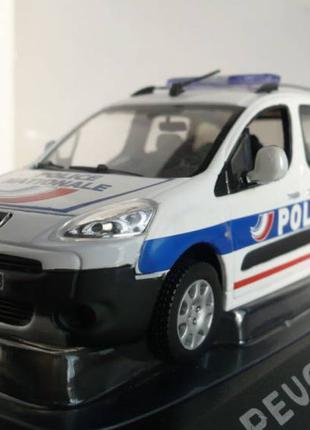 Peugeot Partner полиция - Модель 1/43 Norev