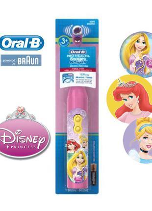 Детская электрическая зубная щетка Принцессы Disney Oral-B