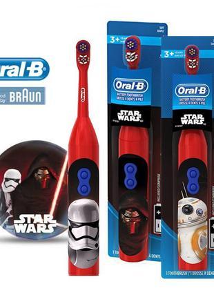 Детская электрическая зубная щетка Star Wars Braun Oral-B Pro-Hea