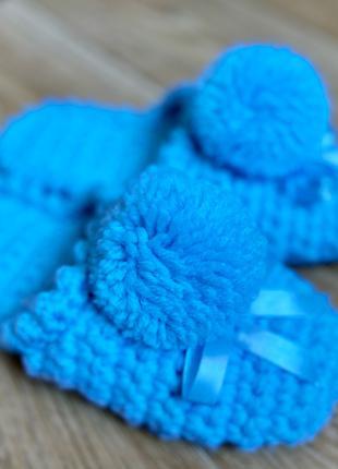 Голубые тапочки
