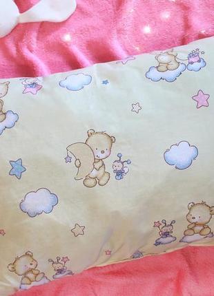 Детская подушка 50х70 мишки