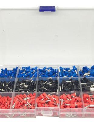 1065x Клемма, наконечник кабельный изолированный штыревой, набор