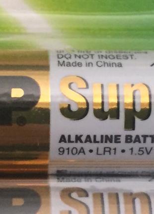 Батарейка GP Super 910A LR1 size N 1.5V