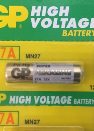 Батарейка GP 27A MN27 A27 8LR732 12V высоковольтная щелочная