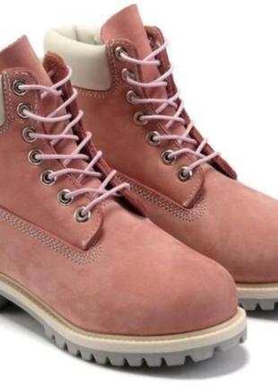 Женские Timberland Classic Pink