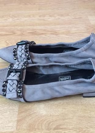 Кожаные туфли kennel & schmenger германия с камнями сваровски