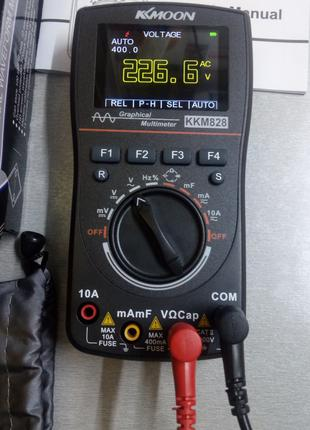 Мультиметр осциллограф М828