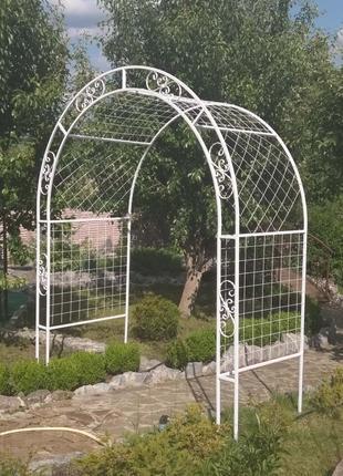 садовые арка, мостик, лавка, качели, мебель, изделия из металла