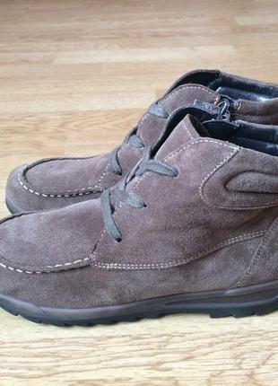 Замшевые ботинки ara германия 38 размера в отличном состоянии