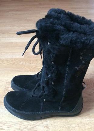 Замшевые ботинки the north face оригинал 38 размера в состояни...