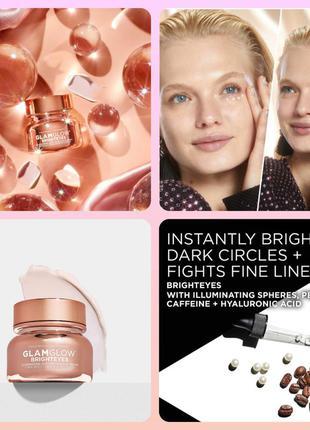 Glamglow brighteyes осветляющий крем для кожи вокруг глаз