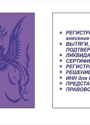 Внесение изменений в уч.документы. Регистрация и ликвидация.
