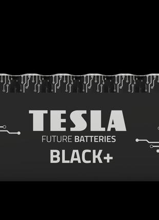 Щелочные батарейки TESLA BLACK+ AA 10шт.