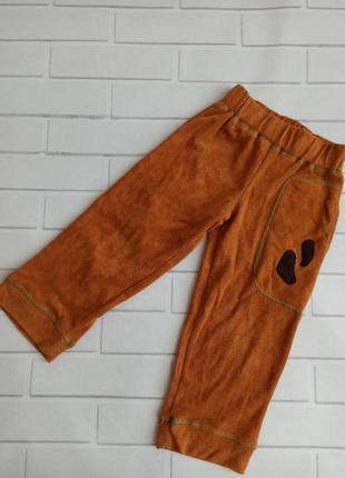 Штаны плюшевые, ubang штаны прямой крой дания