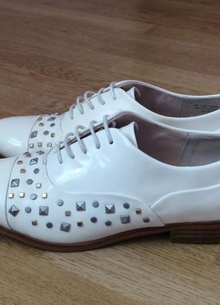 Кожаные туфли clarks англия 38 размера