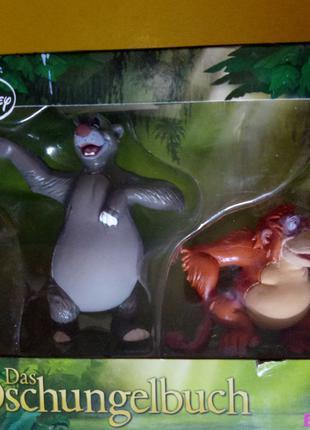 Книга джунглей Bullyland — фигурка Балу и Король Луи