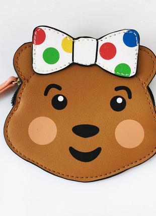 Кошелек косметичка медвежонок для девочки