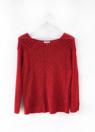 Стильный свитер кофта джемпер глубокого цвета monsoon