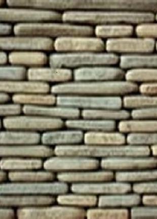 Фасадная нарезка торец окатанный из песчаника