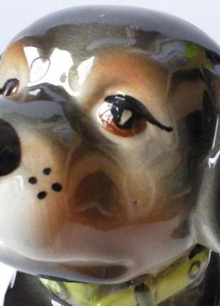 Ротвейлер собака щенок,копилка,керамика.статуэтка