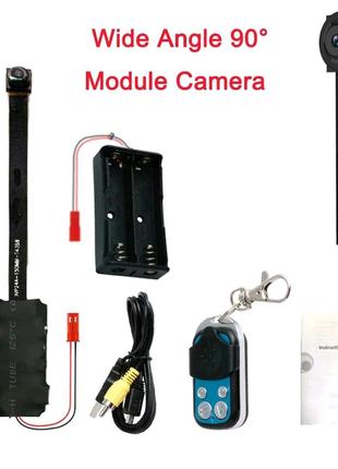 Мини DIY Камера Full HD 1080 P видеокамера DV DVR обнаружения дви