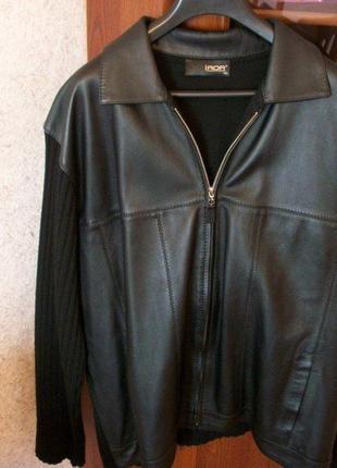 Куртка кожаная iror [мужская] размер [54-56] комбинированная