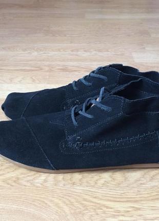 #розвантажуюсь замшевые ботинки toms сша 44 размера