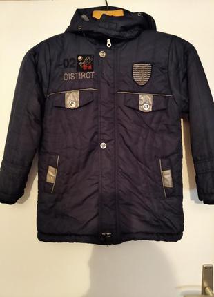 Стильная модная куртка для мальчика