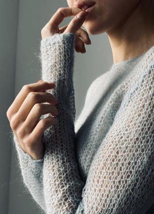 Свитер кофта свитерок ангорка marcopolo